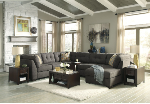 3 PCS Signature Design by Ashley 19700 Delta City-Steel  Sectional