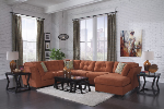 3 PCS Signature Design by Ashley 19700 Delta City-Rust  Sectional