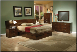 Coaster 200711 Jessica Platform Bedroom Set