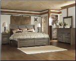B251 Ashley Juararo Panel Bedroom Set