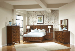 Campton Platform Bedroom Set  with Storage Footboard - Homelegance