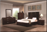Coaster 200720 Jessica King Bedroom set  with Built-in Touch Lighting