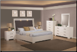 Coaster 200920 Jessica Queen Bedroom set  with Built-in Touch Lighting