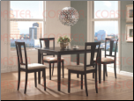 5 PC Dining Set - Coaster 150181