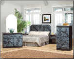 World Imports 1922 Arched Complete Bedroom Set (SKU: WI-1922-BDRMB)