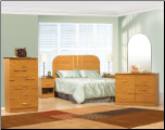 World Imports 1926 Arched Complete Bedroom Set