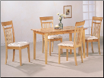Las Olas 5 Piece Dining Set by Coaster (SKU: CO-4067)
