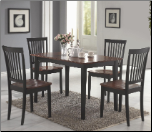 5 PC Dining Set - Coaster 150153