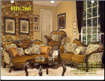 Homey Design 3 Piece Sofa Set Living Room Set