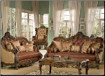 Ramatuelle  2 Piece Living Room Set by Homey Design HD-3311 (SKU: HD-3311-LRSET)