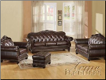 Acme Furniture Living Room Top Gain Leather Sofa Set 15030 SET