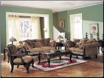 Bordeaux Chenille Fabric Sofa Set Acme 05600 (SKU: AC-05600)