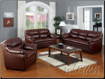 Connell Acme Furniture 2 PCS Living Room Top Gain Leather  15150SET