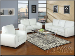 Amber White  Living Room  Set Acme 15225