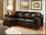 Acme Furniture Living Room PU Reversible Sectional Set 15913 SET