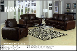 Amber Brown Living Room  Set Acme 15240
