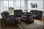 Moreno Leather Power Motion Recliner Living room Set