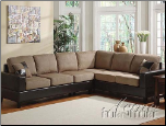 Acme Furniture Easy Rider / Espresso Bycast Sofa 2 Piece 15300 Set
