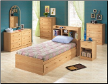 Herbert Oak Youth Twin Bedroom Set - 400080 - Coaster