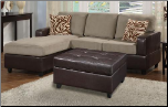 POUNDEX 3 PCS SECTIONAL S7669 (SKU: PXSS-S7669-SECTIONAL)