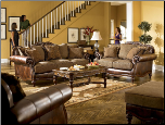 Claremore - Antique Living Room Set by Ashley Furniture