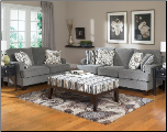 Yvette - Steel Stationary Living Room Set  by Ashley Millennium (SKU: AB - 77900-SET)