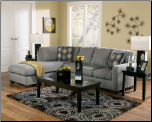 Zella - Charcoal  Sectional Set by Ashley Furniture (SKU: AB- 70200)