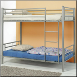 Denley Metal Twin over Twin Bunk Bed by Coaster