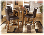 Lacey Dinette with Rectangular Extension Table Signature Design by Ashley Furniture (SKU: AB-D328-13)