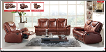ESF  - Leather Living Room Set with Reclining System, '33' Collection by ESF Furniture. (SKU: ESF- liv-33-set)