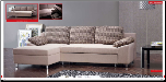 ESF - 6082 Modern Sectional Sleeper in Full Fabric by European Style Furniture (SKU: ESF-6082-SECSET)
