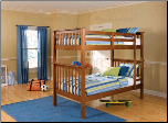 Tyler Twin Bunk Bed - Coaster 460163 (SKU: CO- 460163)