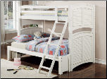 Eagle Lake Stackable/Extendable Bunk Bed - Coaster 460073