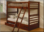Vincent Twin Over Twin Bunk Bed - Coaster 460193 (SKU: CO-460193)