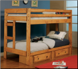Twin-Twin Bunk Bed - Coaster (SKU: CO-460243)