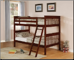 Parker Twin Slat Bunk Bed by Coaster (SKU: CO-460231)
