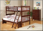 Parker Twin Over Full Slat Bunk Bed by Coaster (SKU: CO-460232)