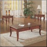 3 Piece Occasional Table Set by Coaster
