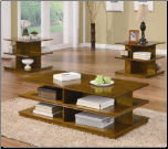 Casual 3 Piece Tiered Occasional Table Set (SKU: CO-701502)