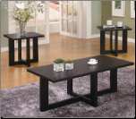 Contemporary 3 Piece Occasional Table Set (SKU: CO-701503)