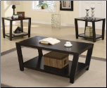 Contemporary 3 Piece Occasional Table Set (SKU: CO-701510)