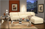 Laurentides Customizable Sectional Set (SKU: CO500894-WHITE-SEC)