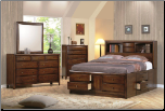 Hillary Storage Bedroom Set - 200609 - Coaster Furniture (SKU: CO-  200609 -KSET)
