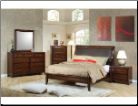 Hillary Platform Bedroom Set - 200640 - Coaster Furniture (SKU: CO-  200640 -KSET)