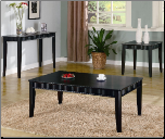 Wave Contemporary Coffee Table Set by Coaster (SKU: CO-701058)