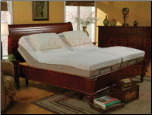 Twin Size Long Adjustable Bed with Massage and Wireless Remote by Coaster - 300130TLM (SKU: CO - 300130TLM)
