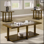 3 Piece Occasional Table Sets Coffee and End Table Set by Coaster (SKU: CO-701529)
