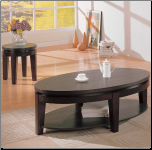 Bosworth Contemporary Round End Table by Coaster