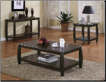 appuccino Coffee Table by Coaster - 701078 (SKU: CO-701078)