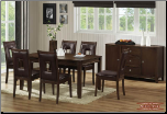 741 Dining Rooms Dining Table, Server, Side Chair | Meridian Furniture USA (SKU: EM-741)